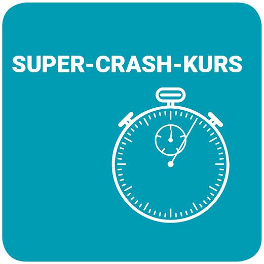 Super-Crashkurs 2020 / I - Jetzt Anmeldung möglich