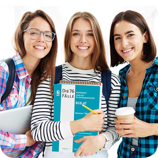 Starten Sie im August 2021 mit Ihrer intensiven Examensvorbereitung.
