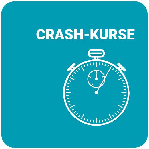 Crashkurse 2020 I - Anmeldung ist ab jetzt möglich