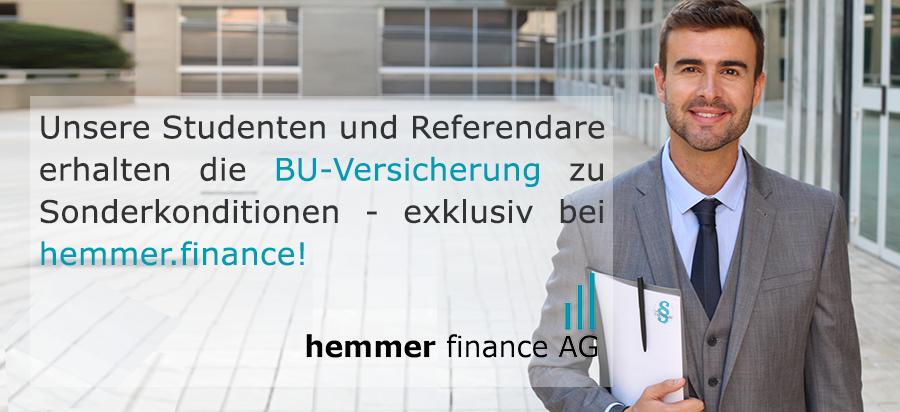 hemmer.finance - Jetzt Karriere günstig absichern!
